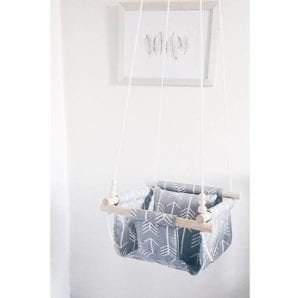 arrow swing- arrow nursery ideas - acraftylife.com