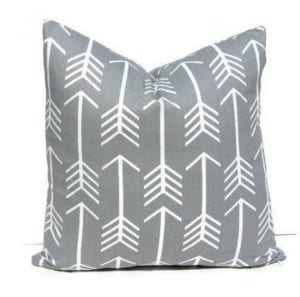 arrow pillow - arrow nursery ideas - acraftylife.com