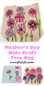 mothers day gift -mothers day craft - spring kid crafts- kid crafts - acraftylife.com #preschool