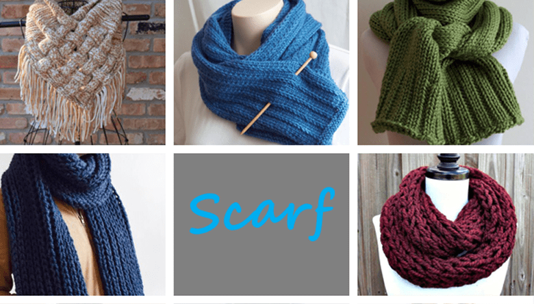 scarf knitting pattern - knitting pattern - acraftylife.com #knitting #knittingpattern
