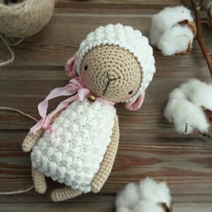 Crocheted sheep pattern // Kristi Tullus (sidrun.spire.ee ... | 300x300