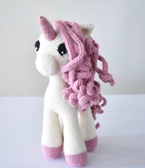 amigurumi unicorn pattern - cute crochet unicorn pattern | 347x300