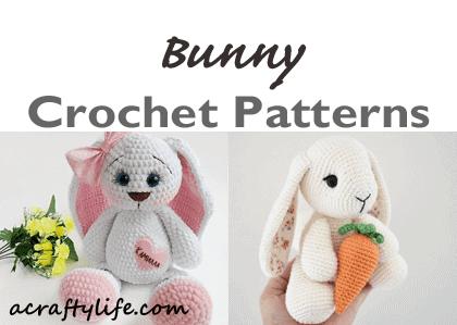 Crochet Amigurumi Bunny Toy Free Patterns Instructions | 299x420