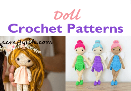 Amigurumi Princess Doll in Cape Crochet Free Pattern | 293x420