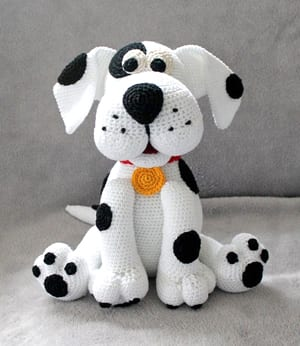 11 Amigurumi Dog Crochet Patterns – Cute Puppies - A More Crafty Life | 346x300