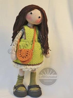 Ballerina doll amigurumi pattern - Amigurumi Today | 403x300