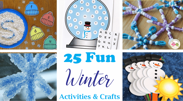 winter theme for preschoolers- winter crafts- arts and crafts activities -winter kid craft- acraftylife.com #kidscraft #craftsforkids #winter #preschool
