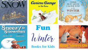 winter books for kids - winter crafts- arts and crafts activities -winter kid craft- acraftylife.com #kidscraft #craftsforkids #winter #preschool