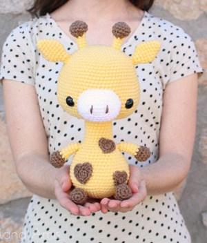 jirafa crochet patterns- toy crochet pattern- amigurumi acraftylife.com #crochet #crochetpattern #diy