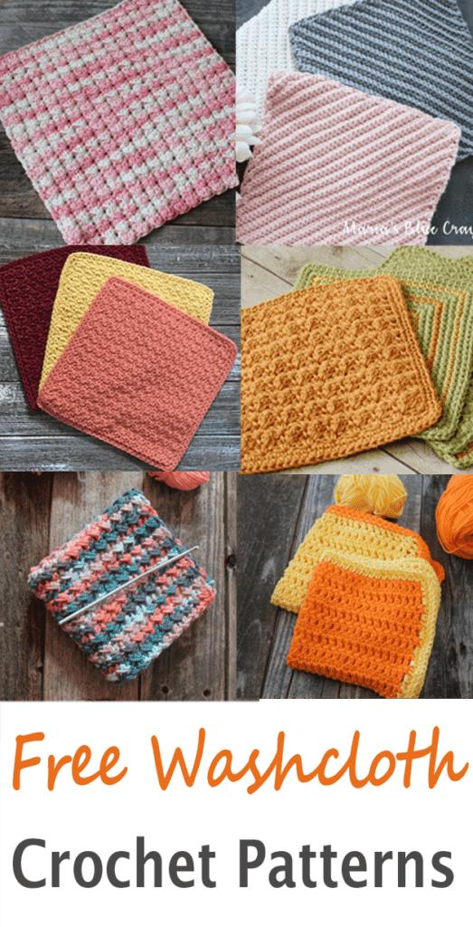 patrón gratis para un patrón de paño de cocina -acraftylife.com #crochet #crochetpattern #diy #freecrochetpattern