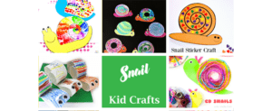 Make colorful and fun snail Kid Crafts - acraftylife.com #kidscrafts #craftsforkids #preschool